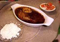 ethiopian delicious food