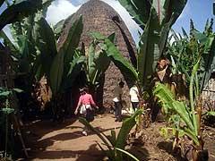 Dorze village hut