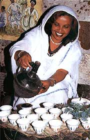 ethiopian coffee tradition